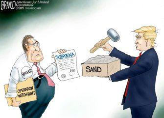 A.F. Branco Cartoon – True Grit
