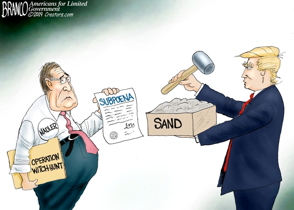 Trump Tells Nadler to Pound Sand