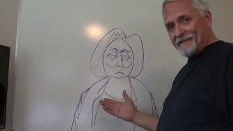 A.F. Branco Draws Hillary