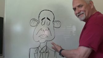 A.F. Branco Draws Obama