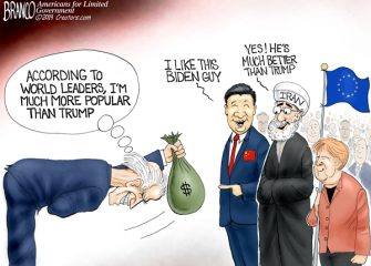 A.F. Branco Cartoon – World Stooge