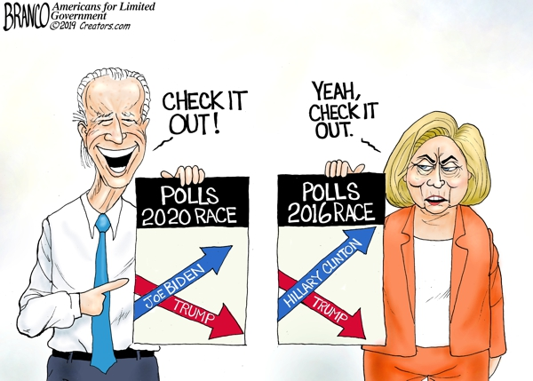 2020 Democrat Poll Numbers