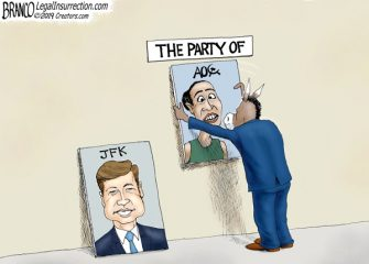 A.F. Branco Cartoon – Changing of the Guard
