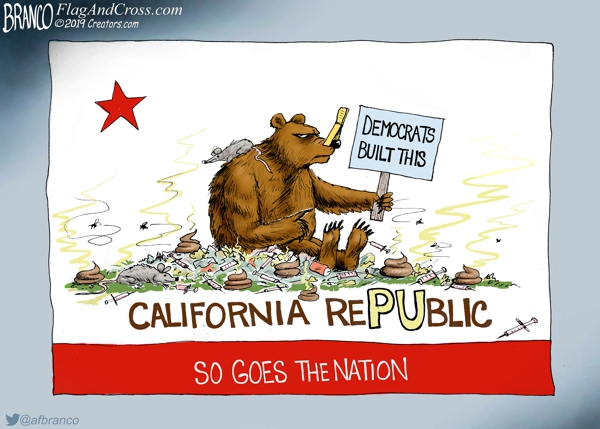 California a Democrat Disaster