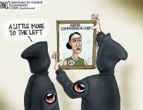 A.F. Branco Cartoon – Lost Leader