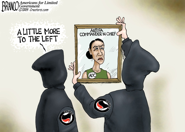 AOC and AntiFa