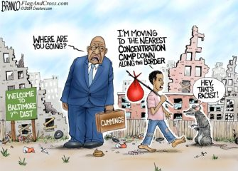 A.F. Branco Cartoon – Movin' On Up