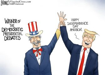 A.F. Branco Cartoon – Winning, Again