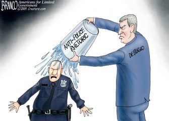 A.F. Branco Cartoon – Aqua Man