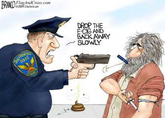 A.F. Branco Cartoon – Vaporizing Crime
