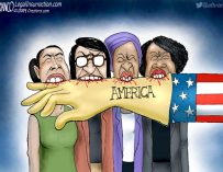 A.F. Branco Cartoon – The Marx Sisters