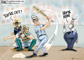 A.F. Branco Cartoon – Designated Hitter