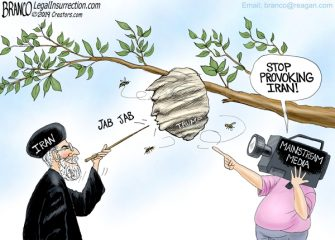 A.F. Branco Cartoon – Bee Careful
