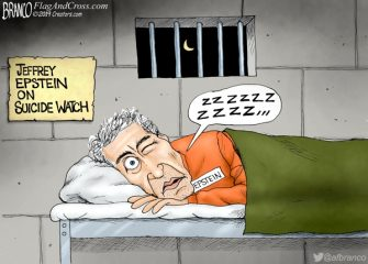 A.F. Branco Cartoon – Friend Of Bill