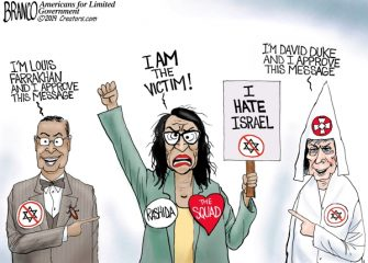 A.F. Branco Cartoon – Hate-Felt