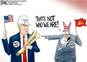 A.F. Branco Cartoon – Who Are We?