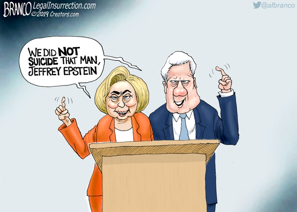 Bill and Hillary Clinton about Epstein