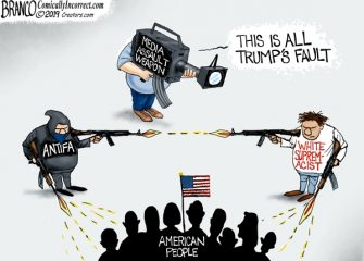 A.F. Branco Cartoon – Weapons of Assault