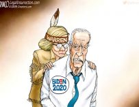 A.F. Branco Cartoon – Creeping Up