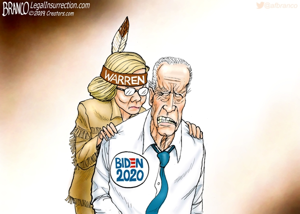 Warren Creeping Up on Biden