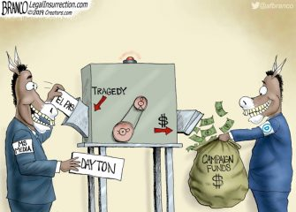 A.F. Branco Cartoon – Blood Money