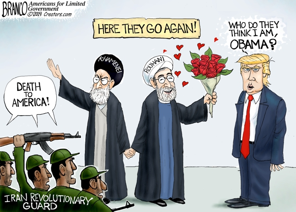 Iran, Trump and Obama