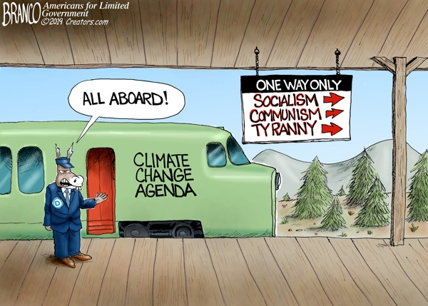 New Green Deal is Socialism