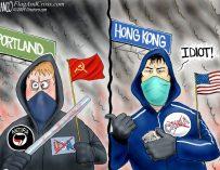 A.F. Branco Cartoon – Tyranny or Freedom