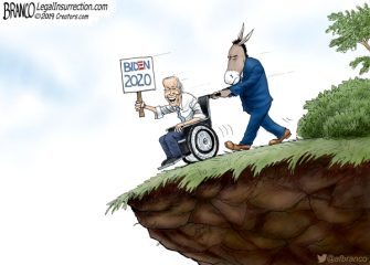 A.F. Branco Cartoon – Hard to Swallow