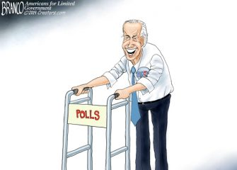 A.F. Branco Cartoon – Front-Runner