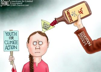 A.F. Branco Cartoon – Child Abuse