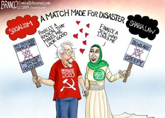A.F. Branco Cartoon – Unholy Alliance