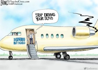 A.F. Branco Cartoon – Jet Setter