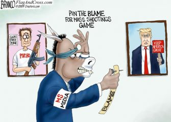 A.F. Branco Cartoon – Pin Head