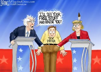 A.F. Branco Cartoon – A Safe Bet