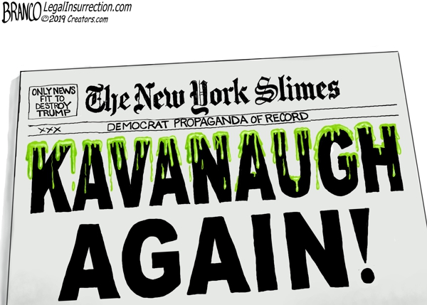 New York Times Smears Kavanaugh