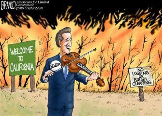 A.F. Branco Cartoon – Feeling the Burn