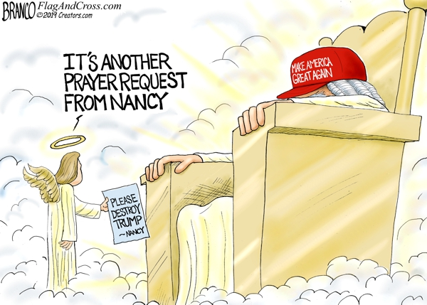 Nancy Prays for Trump