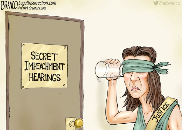 Secret Impeachment Hearings