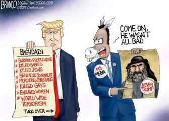 A.F. Branco Cartoon – Who's Your Baghdadi