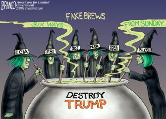 A.F. Branco Cartoon – Witches Hunting