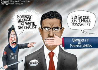 A.F. Branco Cartoon – Penned Down