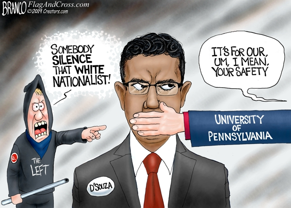 Silencing Dinesh D'Souza