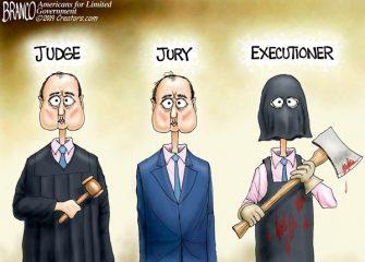 A.F. Branco Cartoon – Schiffty Justice