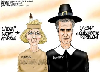 A.F. Branco Cartoon – Thanksgivings Misgivings