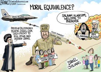 A.F. Branco Cartoon – Moral Equivalence?