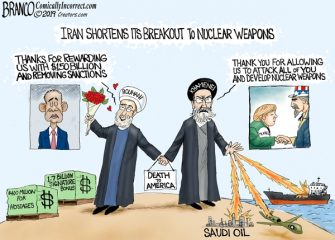 A.F. Branco Cartoon – Iran Nuclear Breakout