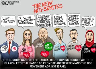 A.F. Branco Cartoon – The New Anti-Smites