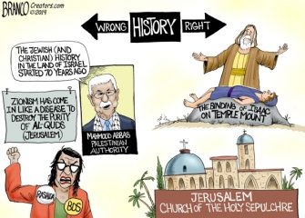 A.F. Branco Cartoon – Right Side of History