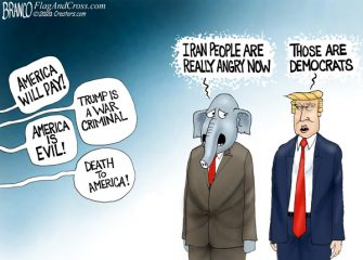 A.F. Branco Cartoon – Know Your Enemy